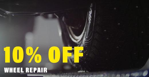 10% Off Wheel Repair