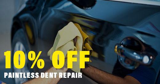 10% off Paintless Dent Repair