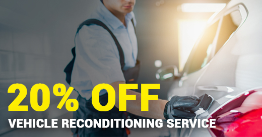 20% off Vehicle Reconditioning Service
