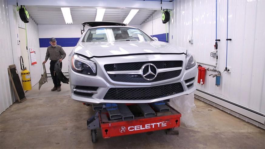 Grieco Fort Lauderdale Mercedes Collision Repair